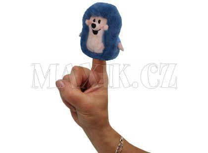 MÚ Brno Ježek 8cm prstový maňásek