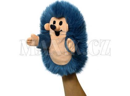 MÚ Brno Maňásek Ježek modrý 23 cm
