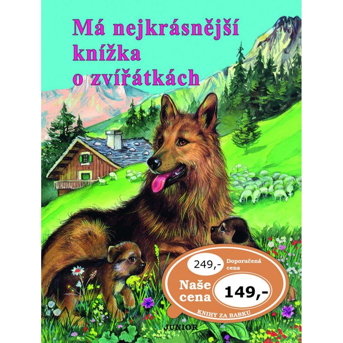 Má nejkrásnější knížka o zvířátkách