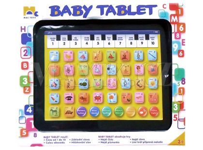 Mac Toys Baby Tablet