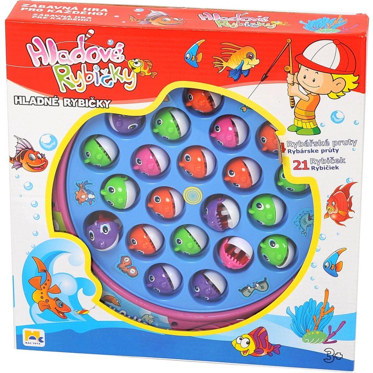 Mac Toys Hladové rybičky - Poškozený obal