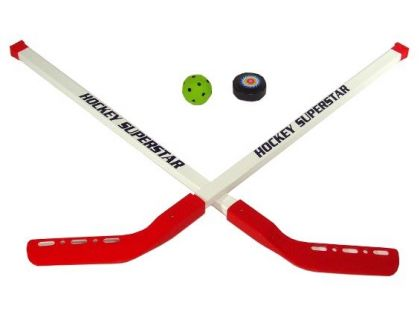 Mac Toys Hokejka s pukem a míčkem