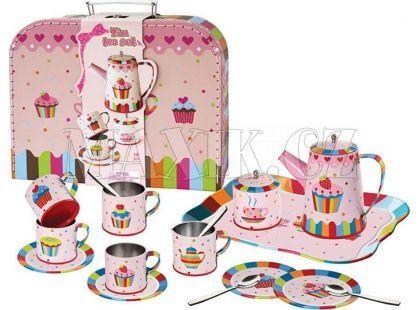 Mac Toys Kovové nádobí v kufříku dortíky