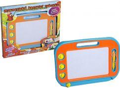 Mac Toys Magnetická tabulka kreslící modro-oranžová
