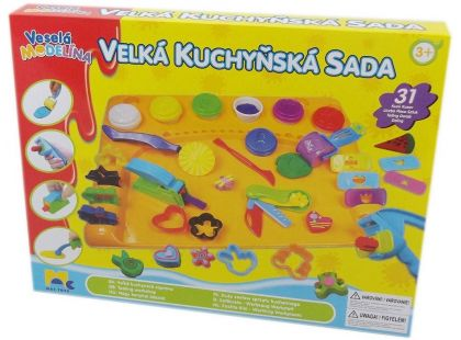 Mac Toys Velká kuchyňská sada modelín