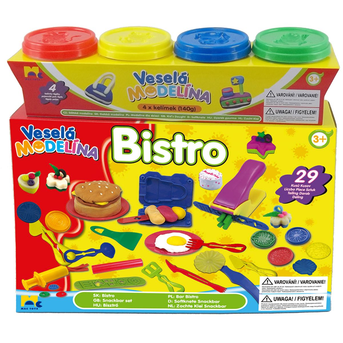 Mac Toys Veselá modelína Bistro