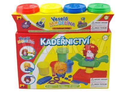 Mac Toys Veselá modelína Kadeřnický set