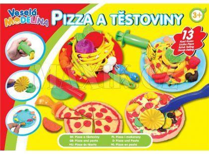 Mac Toys Veselá modelína Pizza a těstoviny