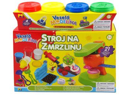Mac Toys Veselá modelína Zmrzlinový set