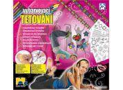 Mac Toys Vybarvovací tetování pro holky