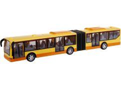 MaDe Autobus na dálkové ovládání 43 cm žlutý