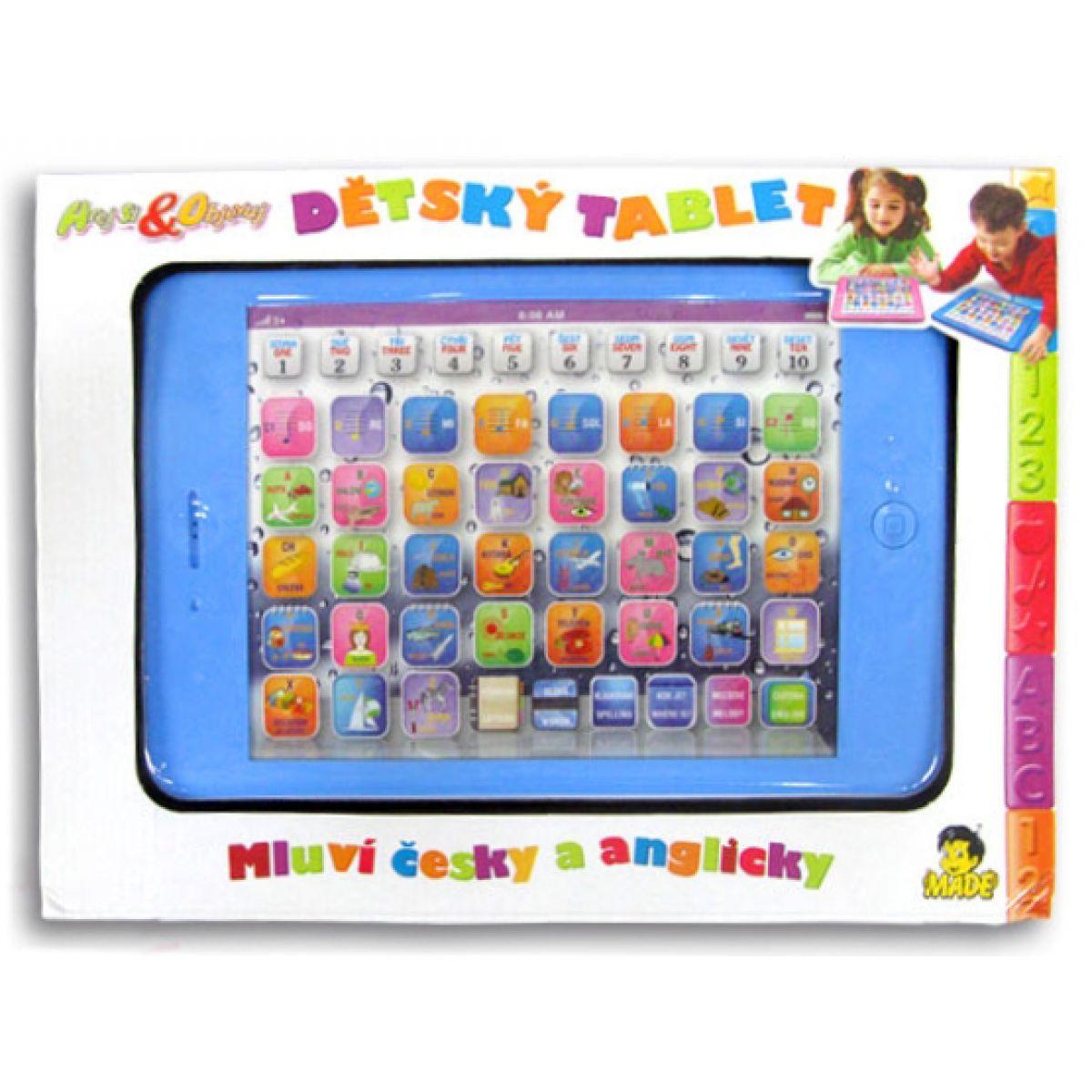 Made Dětský dvojjazyčný tablet