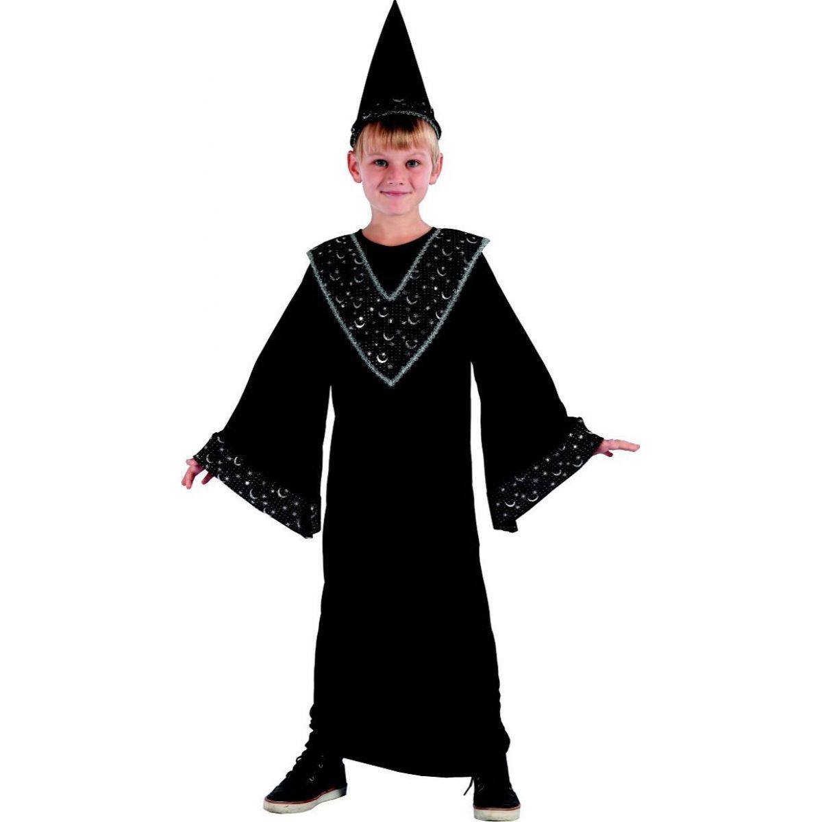 Made Dětský karnevalový kostým čaroděj M120-130 cm