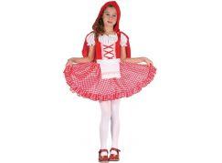 Made Dětský karnevalový kostým Červená Karkulka 110-120 cm