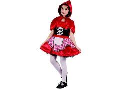 Made Dětský karnevalový kostým Červená karkulka 130-140 cm