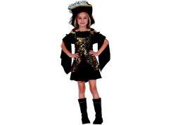 Made Dětský karnevalový kostým Korzárka 120 - 130 cm