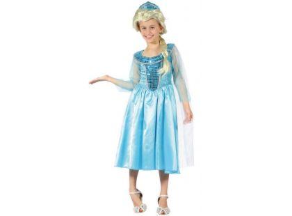 Made Dětský karnevalový kostým Ledová princezna 120-130 cm