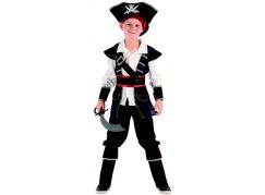 Made Dětský karnevalový kostým pirát 120-130 cm