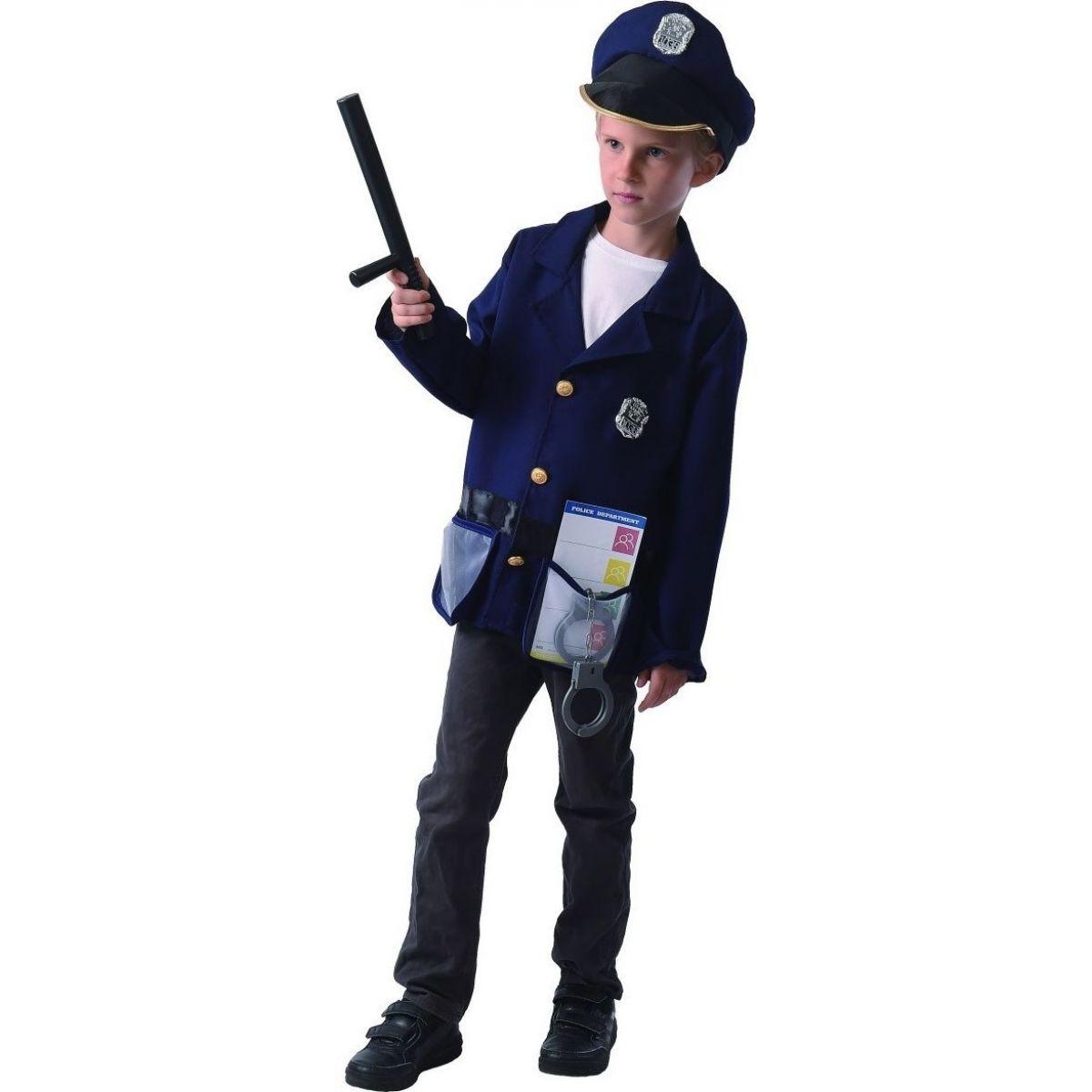Made Dětský karnevalový kostým Policista 120 - 130 cm
