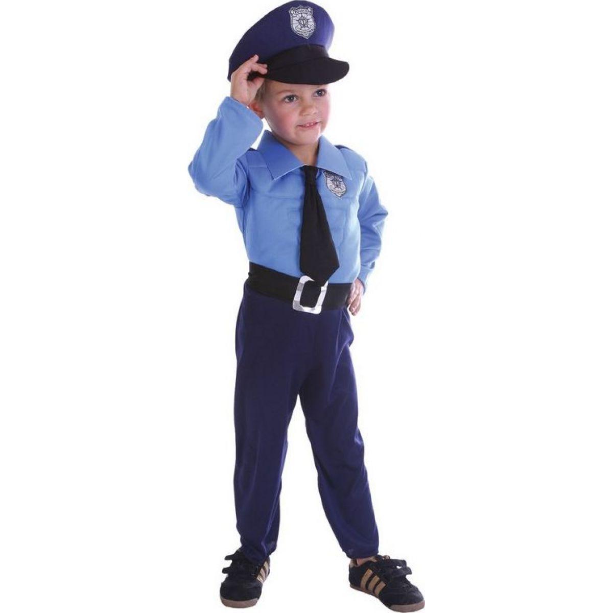 Made Dětský karnevalový kostým Policista 92-104 cm