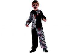 Made Dětský karnevalový kostým Zombie Klaun 130-140 cm