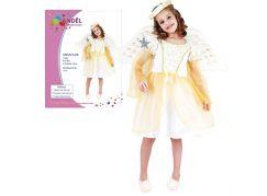 Made Dětský kostým Anděl 120 - 130cm