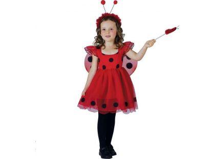 Made Dětský kostým Beruška 92-104 cm