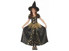 Made Dětský kostým Čarodějka lebka 120-130cm