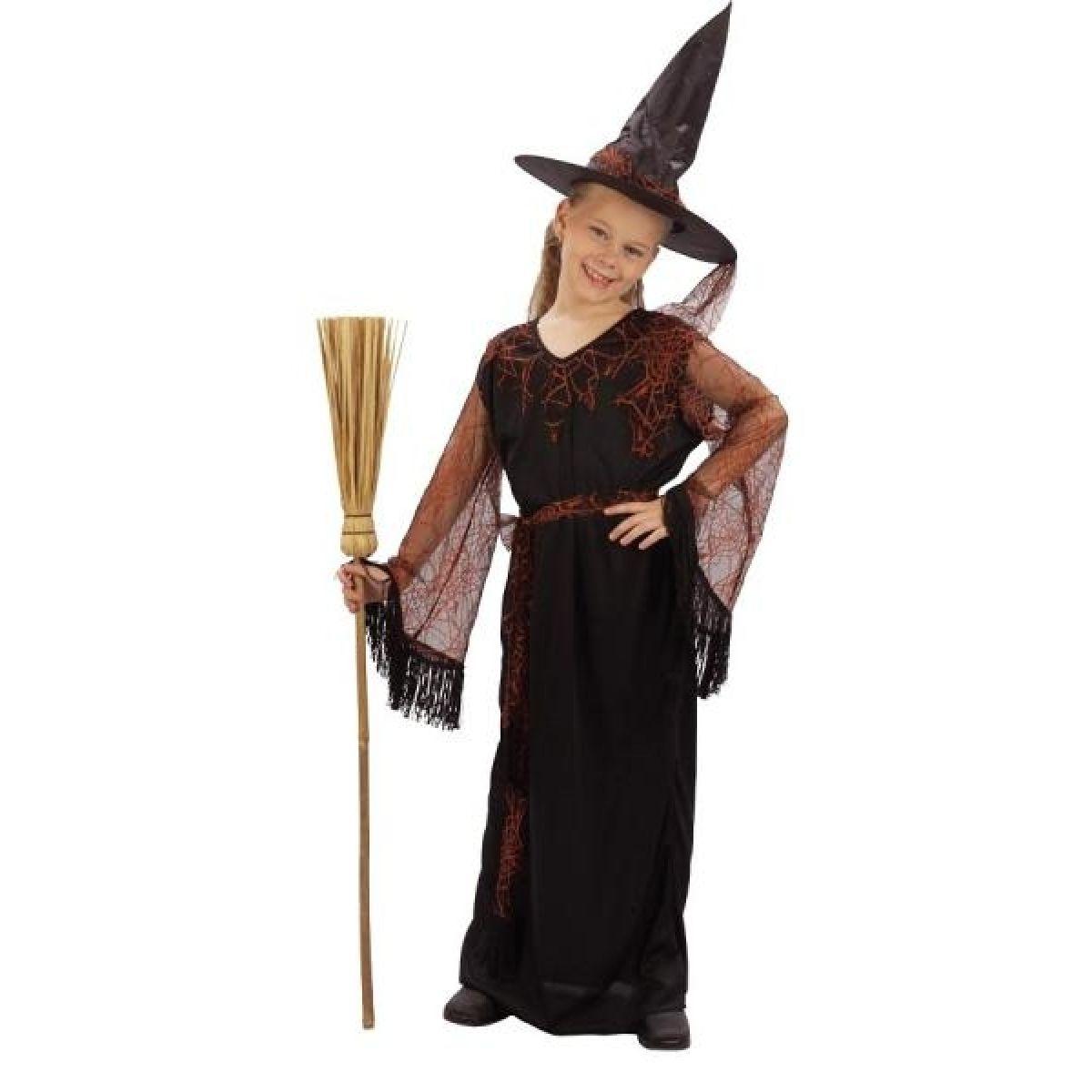 Made Dětský kostým Čarodějka vel. M