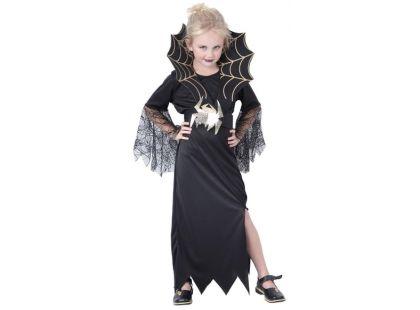 Made Dětský kostým Černá vdova vel. M