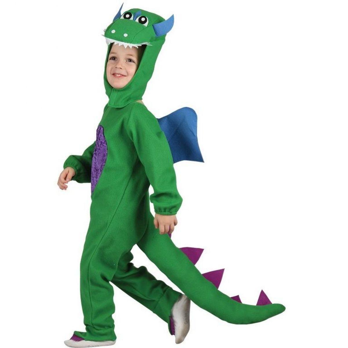 Dětský kostým Dinosaurus 92-104 cm