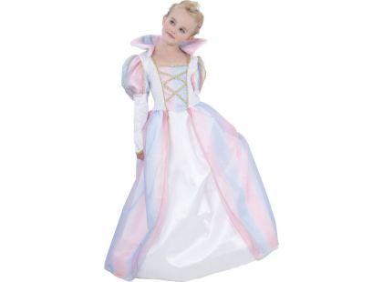 Made Dětský kostým Duhová princezna 120-130 cm - Poškozený obal