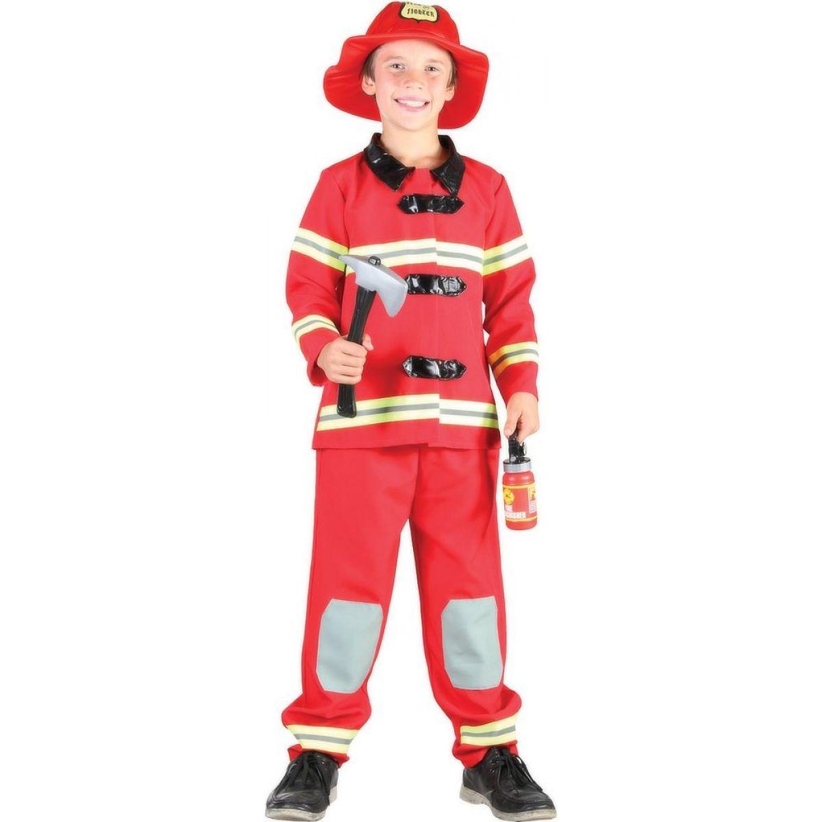 Made Dětský kostým Hasič 110-120cm