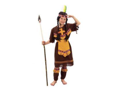 Made Dětský kostým Indiánka vel. S