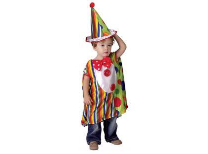 Made Dětský kostým Malý klaun vel. XS