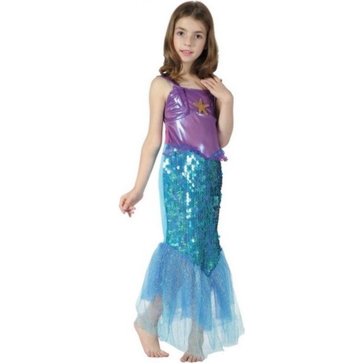 Made Dětský kostým Mořská panna hvězda 110-120cm