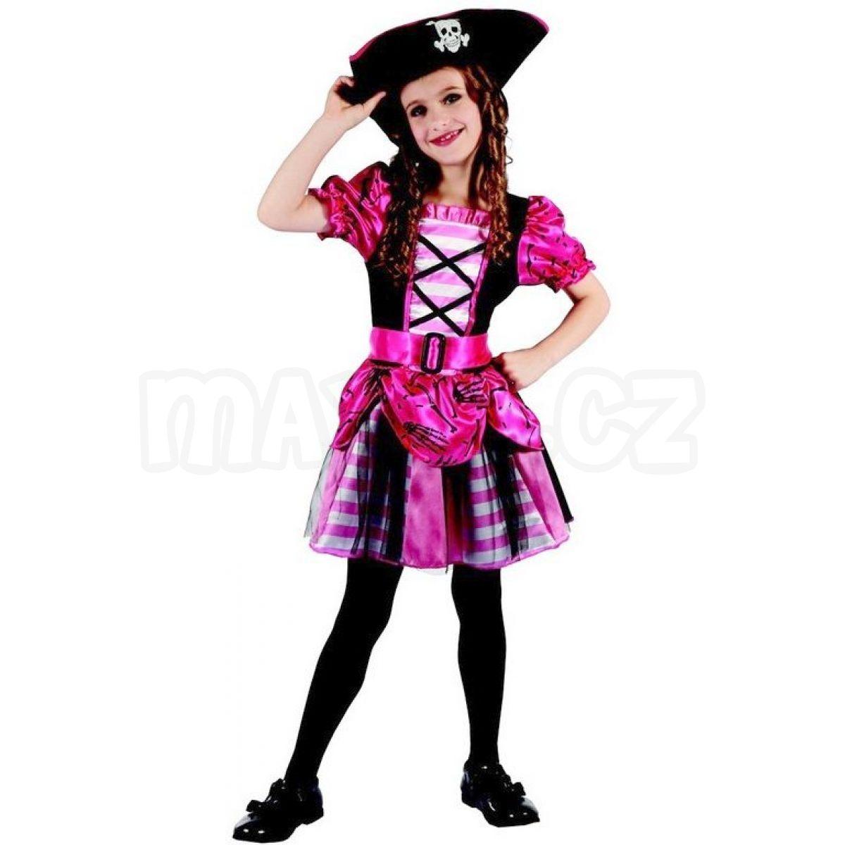 ce3176906212 Made Dětský kostým na karneval pirátka 120-130 cm