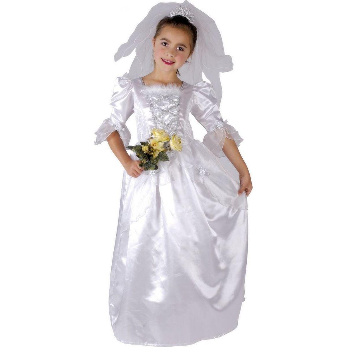 Made Dětský kostým Nevěsta 110-120cm - Poškozený obal