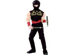 Made Dětský kostým Ninja M 120-130 cm