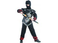 Made Dětský kostým Ninja S 110-120cm