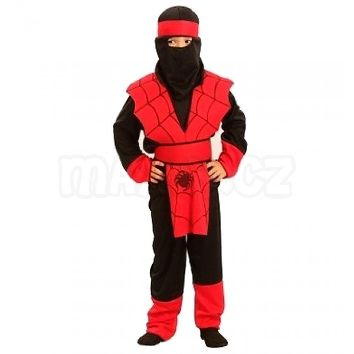 Made Dětský kostým Ninja vel. S  63c9ef9a728