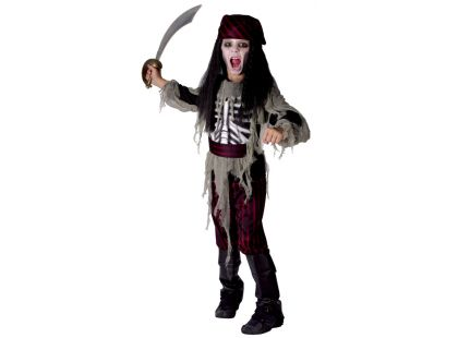 Made Dětský kostým Pirát 120-130cm
