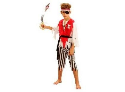 Made Dětský kostým Pirát s páskou vel. M