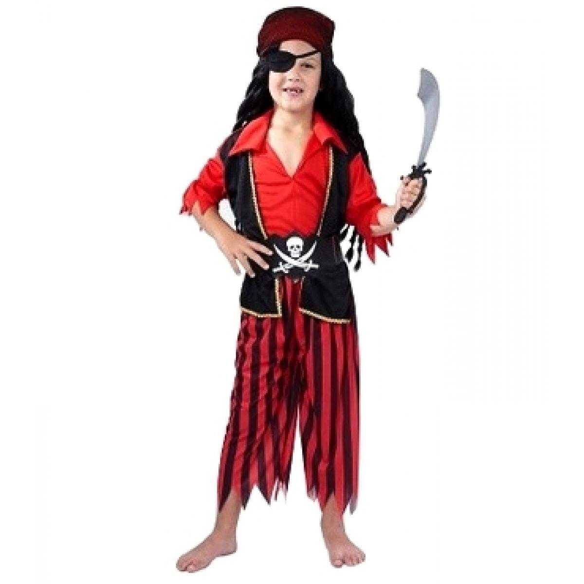 Made Dětský kostým Pirát veli. M