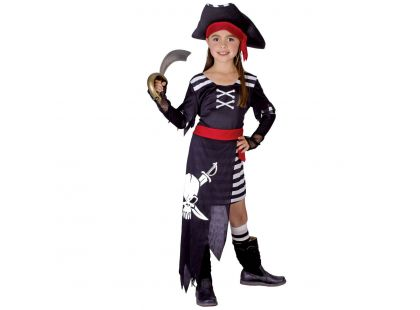 Made Dětský kostým Pirátka vel. S