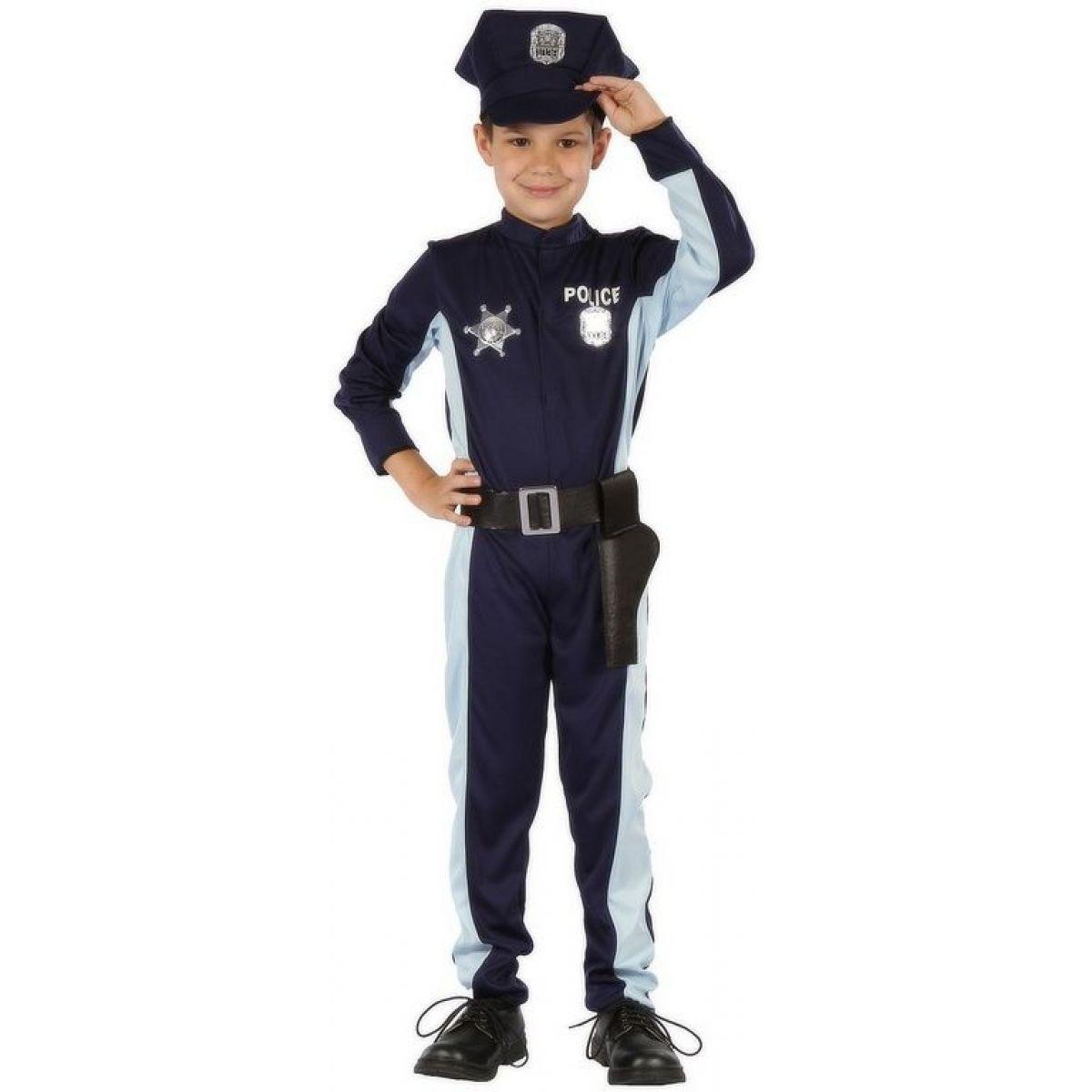 Made Dětský kostým Policista s čepicí 110-120cm