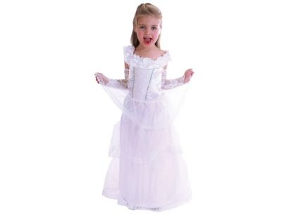 Made Dětský kostým Princezna bílá vel. XS