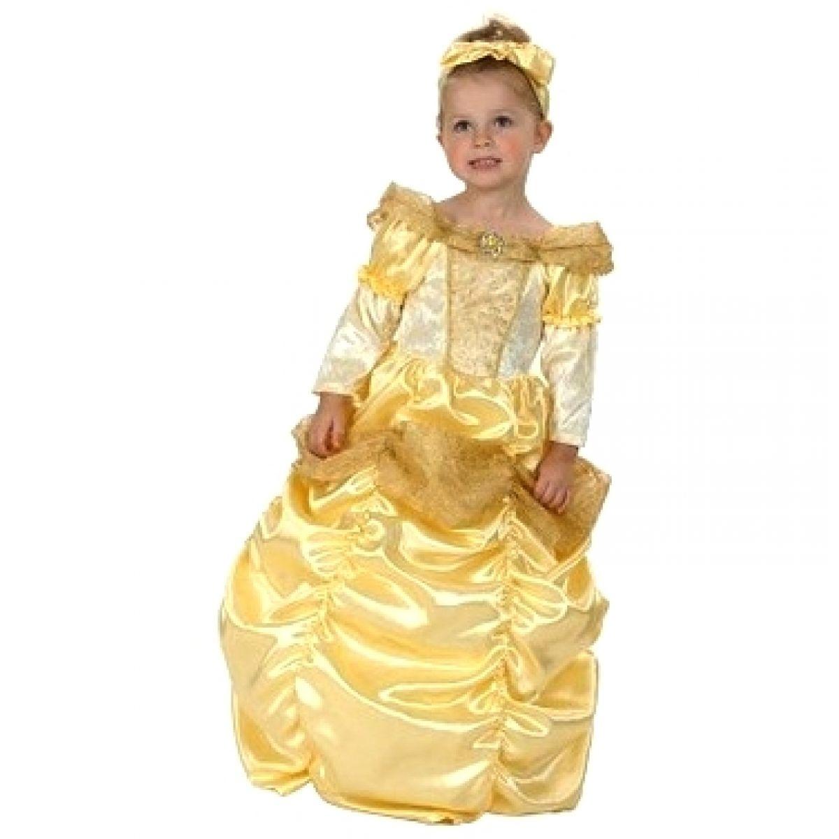 Made Dětský kostým Princezna Kráska vel. S