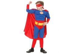 Made Dětský kostým Superman vel. M