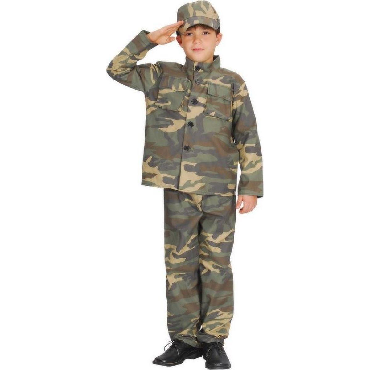 Made Dětský kostým Voják 120-130 cm
